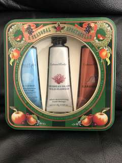 Crabtree & Evelyn hand cream gift set