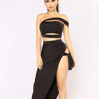 Fashion nova skirt set. Brand New. Best offer