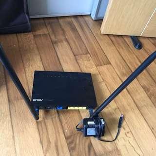 ASUS dual band RT-AC55UHP