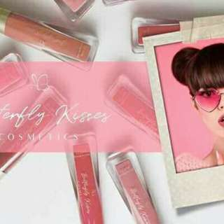 Butterfly cosmetics kisses