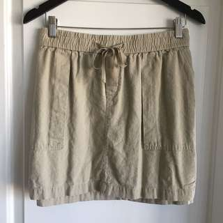 Khaki Skirt (L)