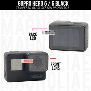 GoPro Tempered Glass for Hero 5/6 Black