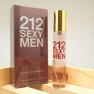 Carolina Hererra 212 SEXY MEN Eau De Toilette 20ml