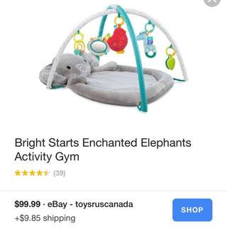 Enchanted Elephant Playmat