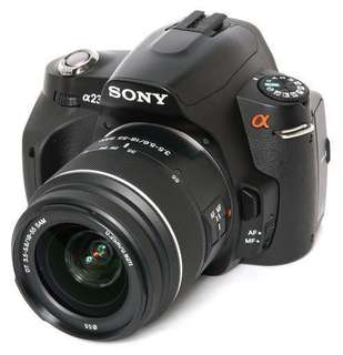 Sony A230 alpha DSLR Camera Kit