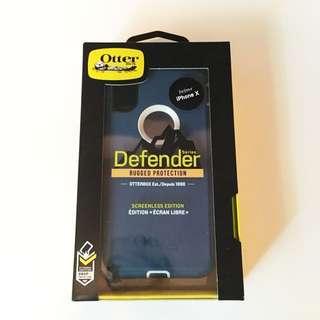 全新 OtterBox Defender Iphone X Case 手機殼