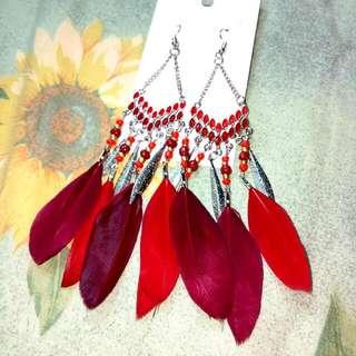 Handmade Boho Style Long Earrings