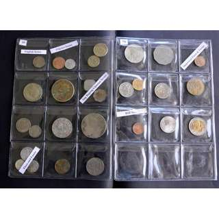 PH Coin Set (Complete Pilipino to Improved Flora and Fauna Series) + 2 Uncirculated Commemorative Coins