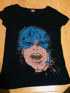 F&H Captain America Shirt