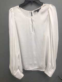 Bcbg silk shirt  Large but fits larger!!