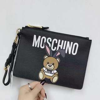 Moschino playboy 中size Clutch Bag (playboy bear 手包)