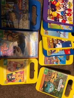 Assorted kids DVD's Octonauts, wiggles, Diego and mike the night