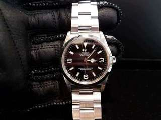 PREOWNED ROLEX Explorer I, 114270 Rolesor, 36mm, Men-size, Z Series @ Year 2008 Unisex Watch