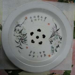 手繪 瓷器 茶托