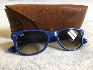 AUTHENTIC Rayban New Wayfarer Sunglasses (Blue)