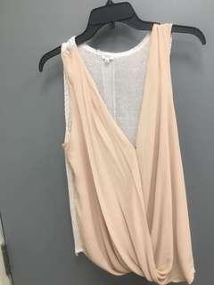 Aritzia silk shirts
