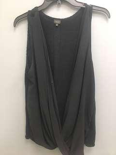 Aritzia's silk TB dress shirt. Size l/XL