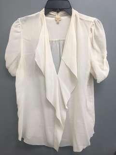 Aritzia's Talula Babaton silk shirt