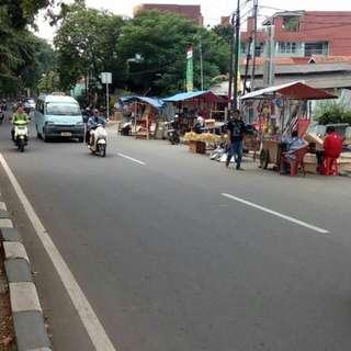 Tanah SHM di Pinghir Jalan Klender Jakarta Timur