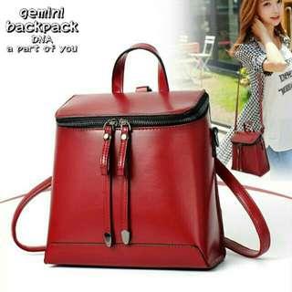 Red bag / tas wanita / slingbag / ransel