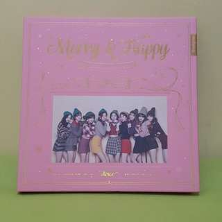 Twice淨專 merry & happy  cy碟  (HOLD)