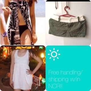 Summer Outfit Bundle (free sf w/in NCR)