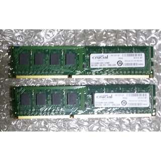 Crucial DDR3 1600mhz  8gb kit (4gb x2 )