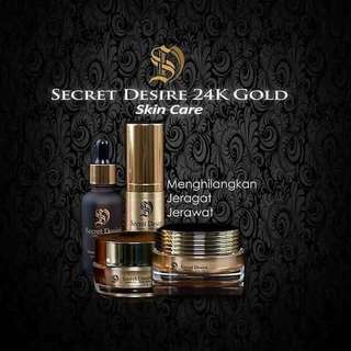 secret desire 24k gold skincare
