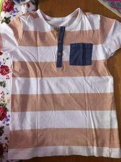 H & M t-shirt x 3