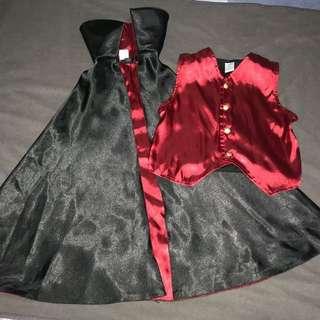 Gymboree Vampire Costume 7-9