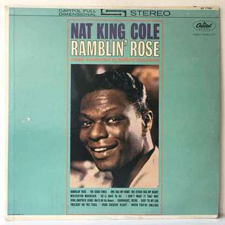 Nat King Cole ‎– Ramblin' Rose (1962 USA Original - Vinyl is Excellent)