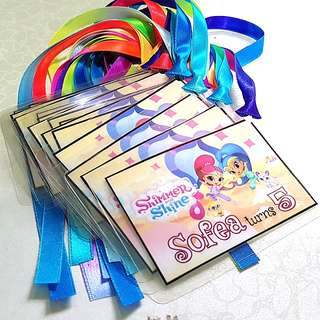 Customized Goodie Bag Tags