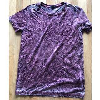 Pink/purple t-shirt (river island brand)