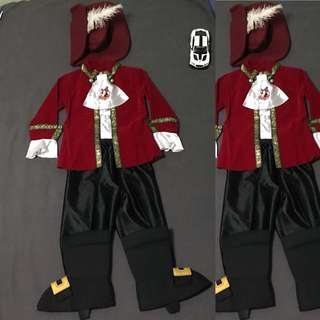Disney's Pirate Suit 3-4 y/o 12.5 inches shoulder