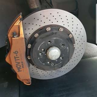 Mercedes Movit big brake kit front n rear bbk 4sale cheap!