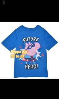Peppa Pig TOP Brand New Size Available For 3T -5T Gd Quality