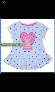 Peppa pig top Brand new size Available for 4t   5t