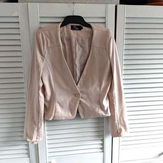 Dusty pink blaser size large