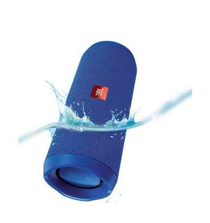 JBL FLIP 4 portable Bluetooth Speaker (Blue)