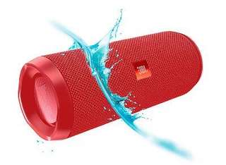 JBL FLIP 4 portable Bluetooth Speaker (Red)