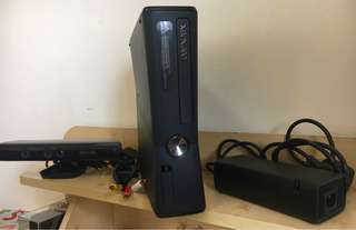 Xbox 360 Slim 250GB with Kinect