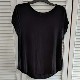 Black H&M shirt size 10