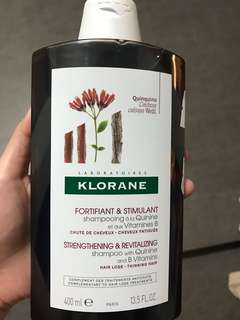 Klorane hair strengthening shampoo