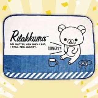 San-X Rilakkuma casual soft blanket (Blue)