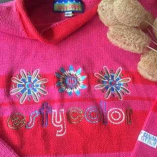 國外品牌/刺繡針織上衣