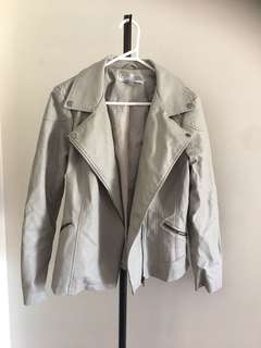 Size 12 rivers leather jacket