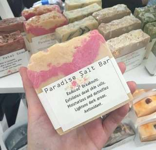 Paraside Salt Soap