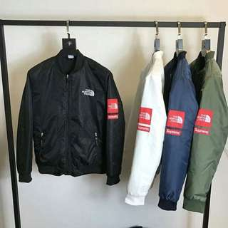 Supreme x the north face 聯名防風外套