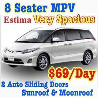 ✨Estima MPV($69) ✨Honda Accord($59) ✨Lexus IS250($62) ✨Vezel Hybrid($69) ✨Lexus Super Luxury GS300($75)  ✨BMW 120i Convertible Cabriolet ($76) ✨BMW 525i($69) Car Rental Leasing Uber Grab Wedding ( Rent Volvo Toyota Mercedes Airport Taxi Cab Transfer)