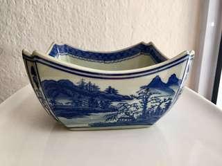 Vintage Octagonal Bowl